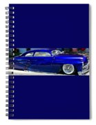 Blue Bomb Spiral Notebook