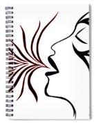 Blue Breath Spiral Notebook