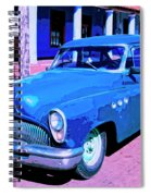 Blue Buick Spiral Notebook