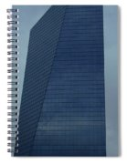 Blue Building Spiral Notebook
