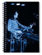 Blue Bullfrog Blues Spiral Notebook
