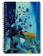 Blue Bunch 45 Spiral Notebook