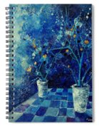 Blue Bunch Spiral Notebook