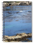 Blue California Bay Spiral Notebook