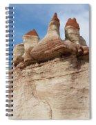 Blue Canyon Minarets Spiral Notebook