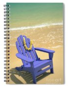 Blue Chair Spiral Notebook