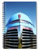 Blue Chevrolet Master Deluxe Spiral Notebook
