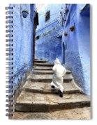 Blue City Kid Spiral Notebook