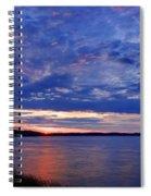Blue Clouds Spiral Notebook