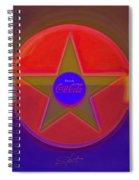 Blue Cola Way Spiral Notebook