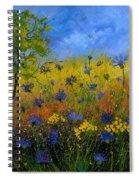 Blue Cornflowers 7761 Spiral Notebook
