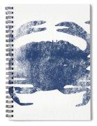 Blue Crab- Art By Linda Woods Spiral Notebook