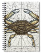 Blue Crab Spiral Notebook