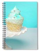 Blue Cupcake Spiral Notebook