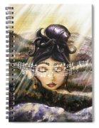 Blue Danube Acoustic  Spiral Notebook