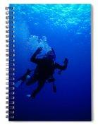 Blue Diver Spiral Notebook