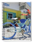 Blue Dog Matlacha Island Florida Spiral Notebook