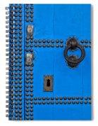 Blue Door Accents Spiral Notebook