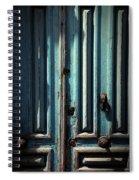 Blue Door. Essaouira. Morocco Spiral Notebook
