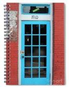Blue Door Spiral Notebook