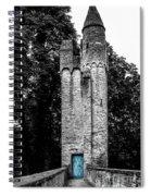 Blue Door Tower Spiral Notebook