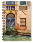 Blue Door Venice Spiral Notebook