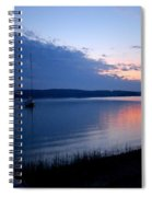 Blue Downtime Spiral Notebook