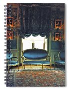 Blue Drawing Room Spiral Notebook