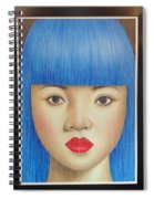 Blue Dream 78x55 Spiral Notebook