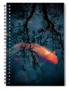 Blue Dreams Spiral Notebook