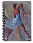 Blue Dress Spiral Notebook