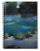 Blue Eden Spiral Notebook