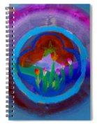 Blue Embrace Spiral Notebook