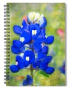 Blue-est Of Blues Spiral Notebook