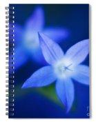 Blue Etoile Spiral Notebook