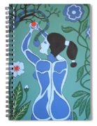 Blue Eve No. 1 Spiral Notebook