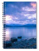 Blue Evening Spiral Notebook