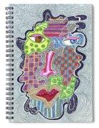 Blue Eye Brown Eye Spiral Notebook