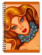 Blue Eyes 3 Spiral Notebook