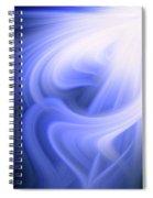 Blue Fiber 0610 Spiral Notebook