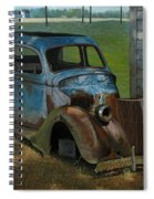 Blue Ford Spiral Notebook