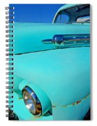 Blue Ford Pickup Truck Spiral Notebook