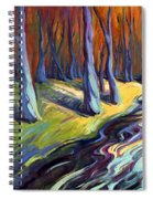 Blue Forest Spiral Notebook