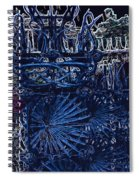 Blue Gate Barcelona Spiral Notebook