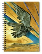 Blue Genesis   Spiral Notebook