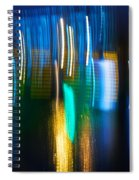 Blue Ghosts Spiral Notebook