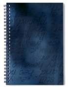 Blue Glimpse Spiral Notebook