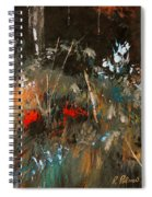 Blue Grass And Wild Flowers Spiral Notebook