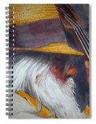 Blue Grass Bob Spiral Notebook