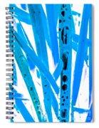 Blue Grass Spiral Notebook